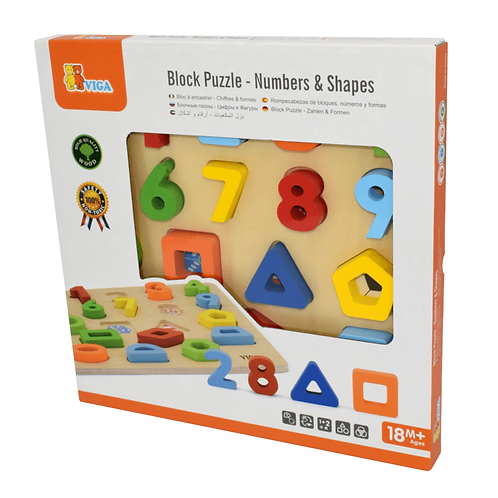 Number & Shape Block Puzzle