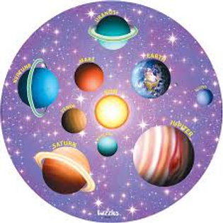 Solar System Wooden Puzzles