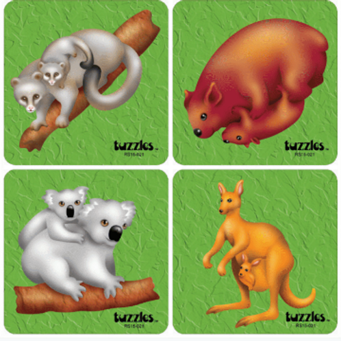 Mother & Baby Aust. Animal Set of 4