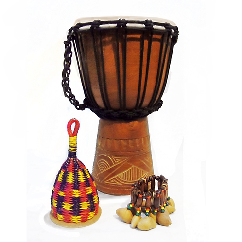 African Djembe Musical Pack