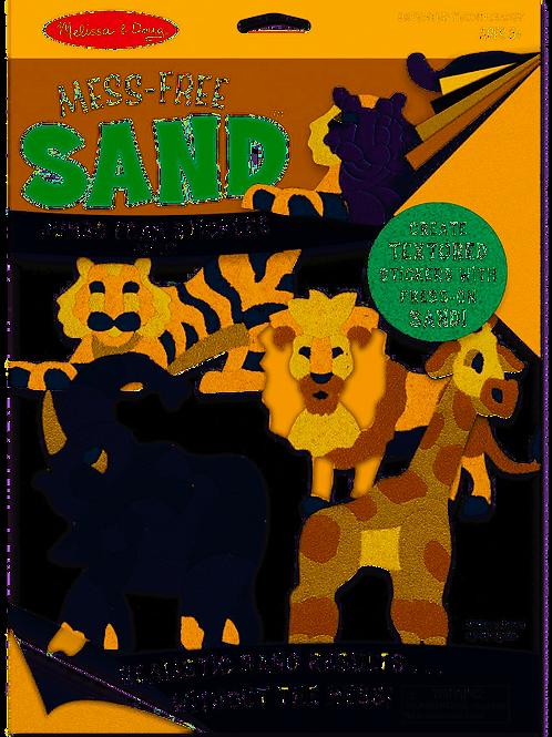 Melissa & Doug Mess-Free Sand Foam Stickers - Safari