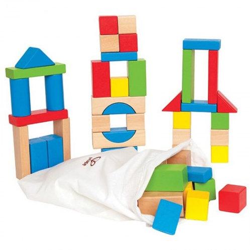Hape Maple Block Set 50 Pieces