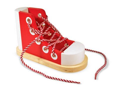 M&D - Wooden Lacing Sneaker