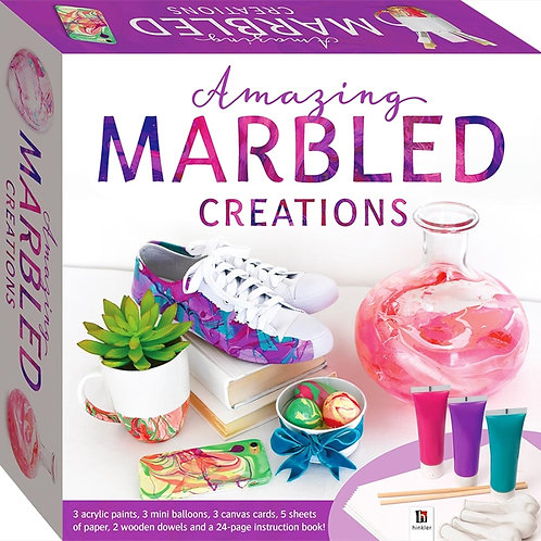 Amazing Marbled Creations Craft Kit
