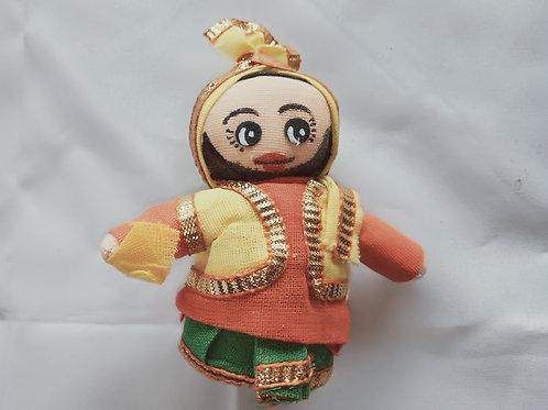 Dancing Multi-Cultural Doll