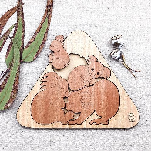 Koala Huddle Puzzle