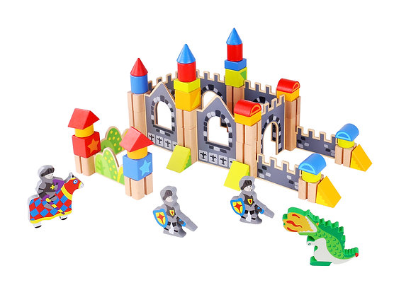 Knight Castle Blocks 60pc