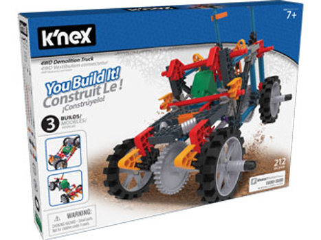 knex - 4WD Demolition Truck Building Set