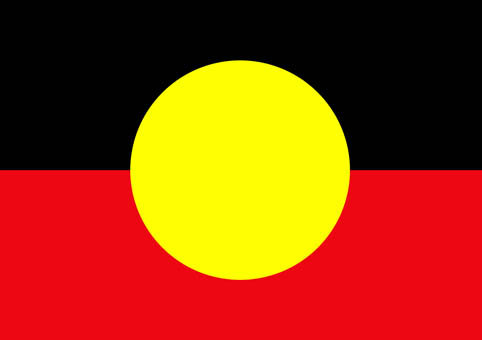 A4 - Aboriginal Flag Puzzle 12PC