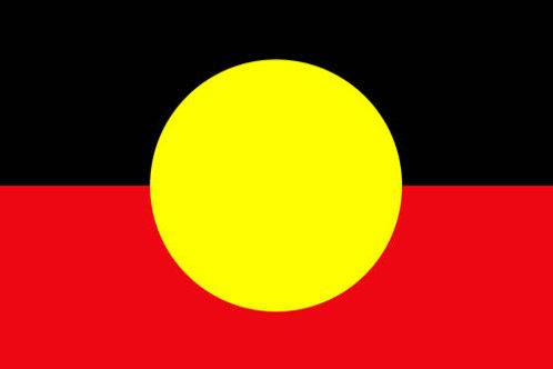 A4 - Aboriginal Flag Puzzle 12PC