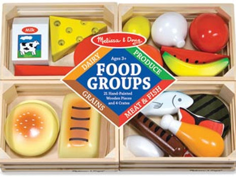 M&D – Food Groups – 24 pieces