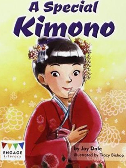 A Special Kimono By (author)  Jay Dale , Illustrated by  Tracy Bishop