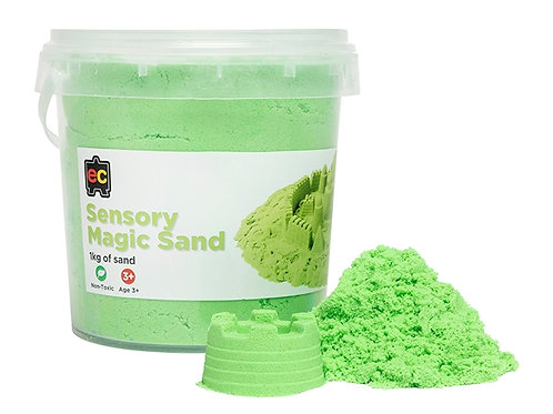Sensory Magic Sand with Moulds 600g Tub