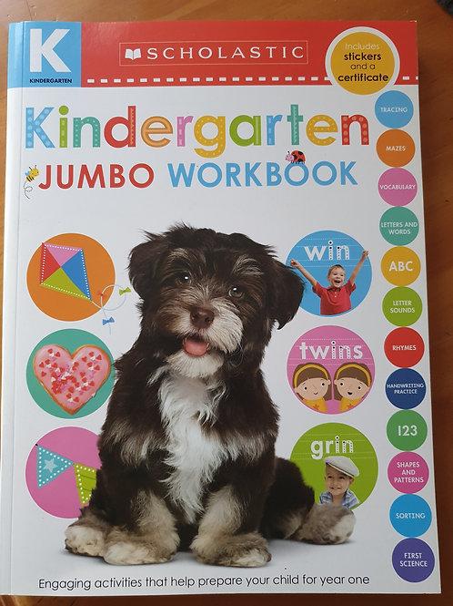 Kindergarten Jumbo Workbook