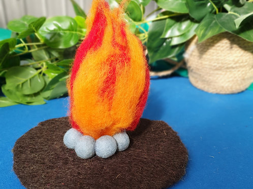 Magic Mystical Fire Mat
