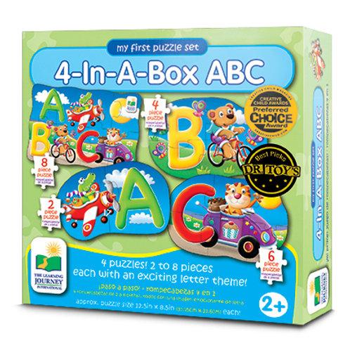 4 In A Box Puzzle - ABC
