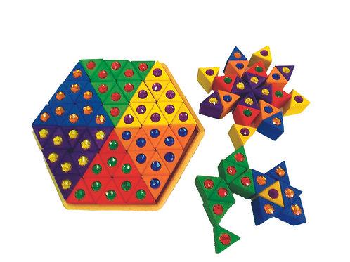Bauspiel Junior Triangles - 54pc
