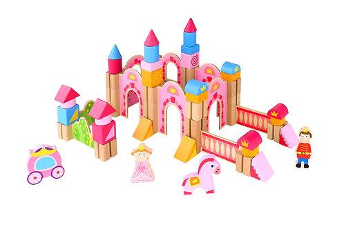 Princess Castle Blocks 60pc