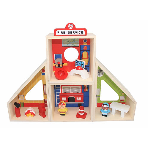 Fire Station Play Set