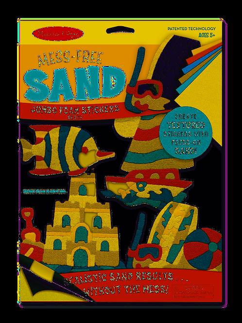 Melissa & Doug Mess-Free Sand Foam Stickers - Beach