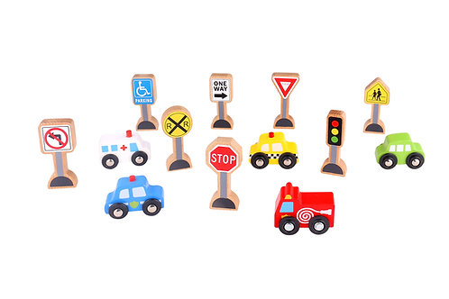 Transportation & Signs Set