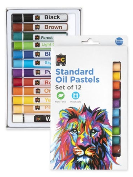 Standard Oil Pastels Pk Of 12