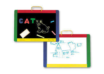 Melissa & Doug - Magnetic Chalk Dry-Erase Board