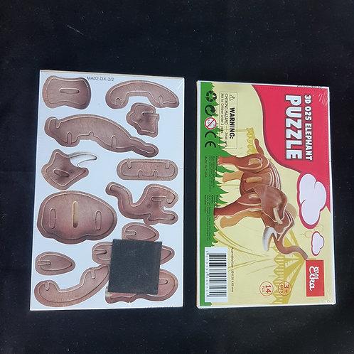 Cardboard Safari 3D Lion, Elephant or Giraffe  Puzzle Buy 3 get 2 free