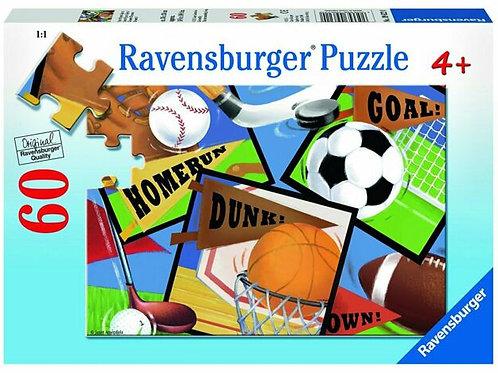 Ravensburger Sports! Sports! Sports! 60 pieces Puzzle