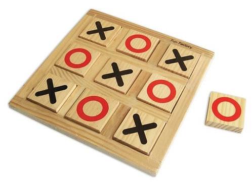 Noughts & Crosses wooden
