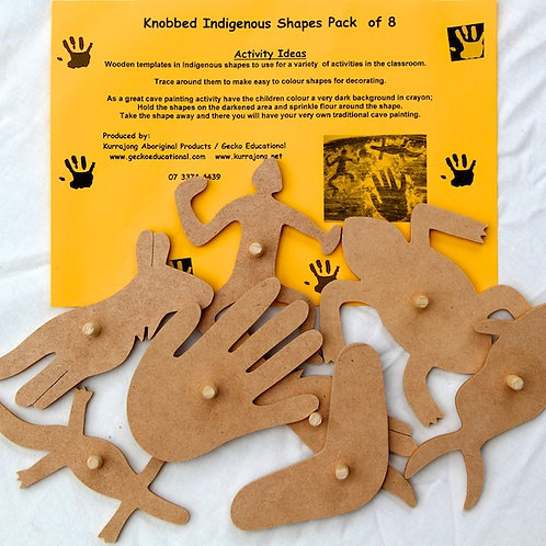 Activity Pack Knobbed Indigenous Shapes