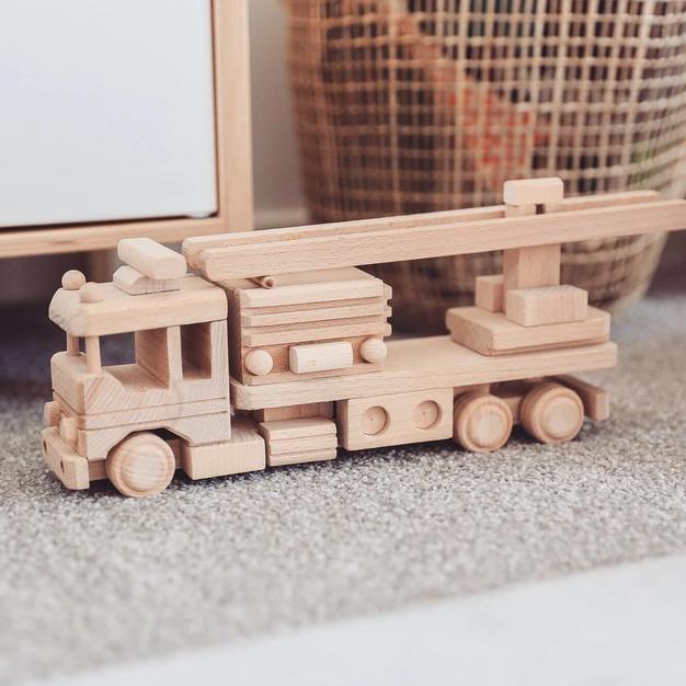 Wooden Fire Truck - Welles