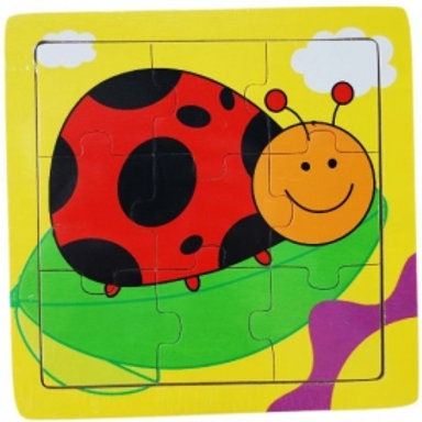 9pc Lady Bug Insect Puzzle