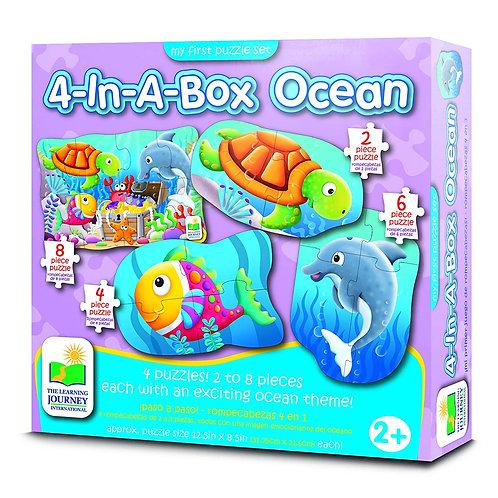 Ocean - 4 in a Box