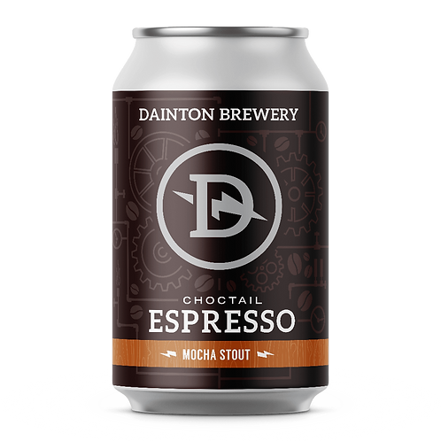 Dainton Brewery Choctail Espresso Mocha Stout 9% Can 355mL