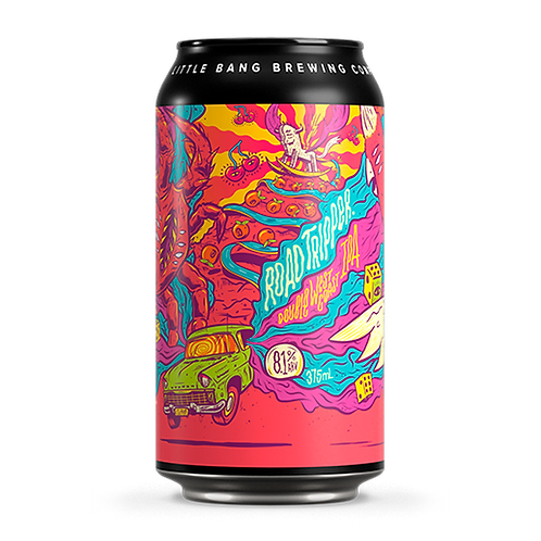 Little Bang Road Tripper West Coast IPA 8.1% Can 375mL
