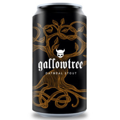 Valhalla Brewing Gallowtree Oatmeal Stout 6% Can 440mL