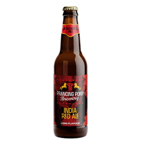 Prancing Pony Brewery India Red Ale 7.9% Btl 330mL