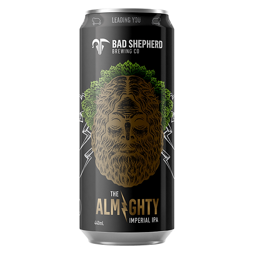 Bad Shepherd The Almighty Imperial IPA 8.5% Can 440mL