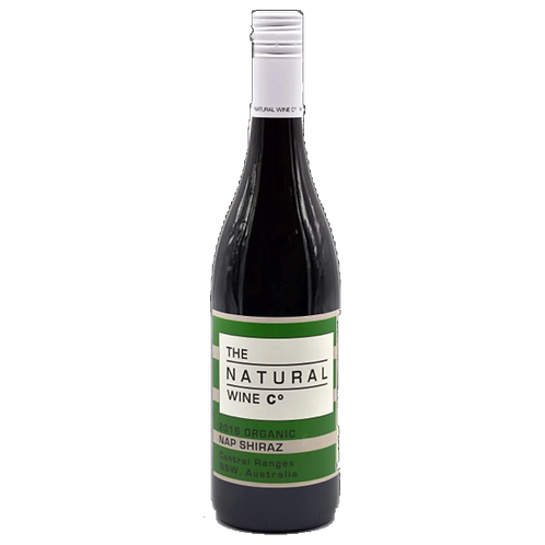 The Natural Wine Co 2020 Central Ranges NSW Organic Shiraz Btl 750mL