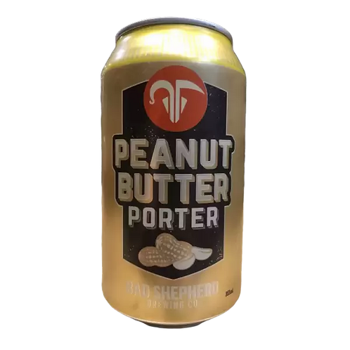 Bad Shepherd Peanut Butter Porter 6.4% Can 355mL