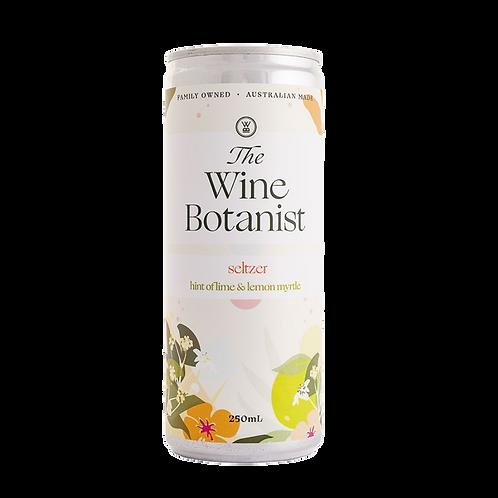The Wine Botanist Hint of Lime & Lemon Myrtle Seltzer Can 250mL
