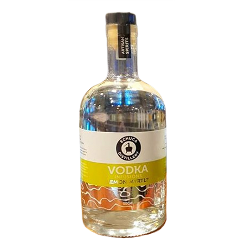 Echuca Distillery Vodka Lemon Myrtle Btl 500mL