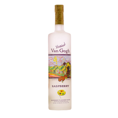Vincent Van Gogh Raspberry Vodka 35% 750mL