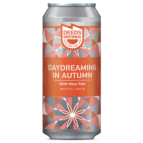 Deeds Brewing Daydreaming in Autumn DDH Hazy Pale 5.7% Can 440mL