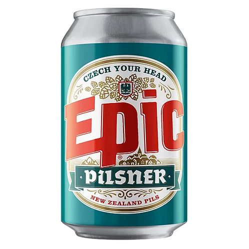 Epic Pilsner 5% Can 330mL