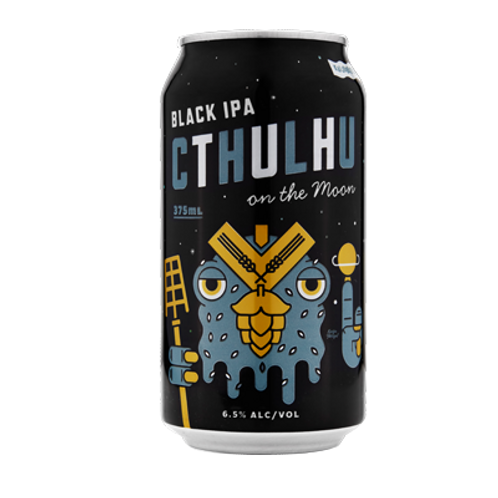 Kaiju Cthulhu Black IPA 6.5% Can 375mL