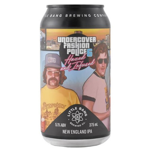 Little Bang Undercover Fashion Police 8 NEIPA 5.1% Can 375mL