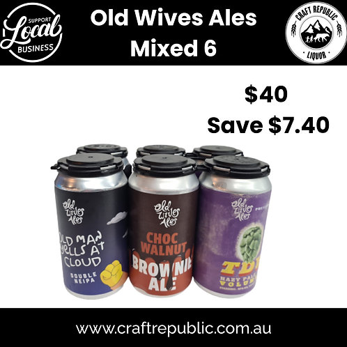 Old Wives Ales Special Mixed 6 pack 355mL