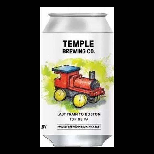 Temple Brewing Last Train to Boston TDH NEIPA 6.7% Can 355mL